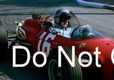 Lorenzo Bandini Ferrari 246 Monaco Grand Prix 1966 Photograph