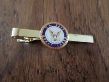 U.S MILITARY NAVY GREAT LAKES TIE BAR OR TIE TAC CLIP ON TYPE U.S.A MADE