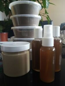 2x Chebe Hair Oil - 1x Chebe & Shea Hair Butter. Leave In - Non Grainy/Unscented