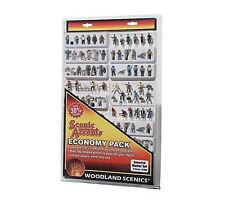 WOODLAND SCENICS N SCALE - ASSORTED WORKER SET - ECONOMY PACK - 2062