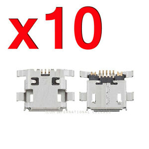 10X ZTE Blade L2 | N9510 | Z970 Micro USB Charger Charging Port Dock Connector