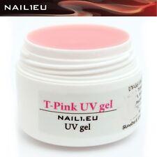 10ml 1-Phasen-Gel NAIL1.EU T-PINK rosa milchig/ UV Builder Aufbau Gel Aufbau-Gel