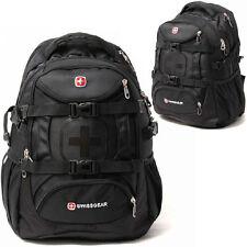 "SwissGear Backpack Rucksack Outdoor Sports Travel Pack 15"" Laptop Bag Schoolbag"
