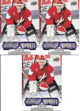 ED BELFOUR TEAM CANADA 2011 UPPER DECK WORLD OF SPORTS #166 NICE (3) CARD LOT