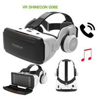 3D VR BOX SHINECON Virtual Reality Glasses Movie Headset For Android iPhone