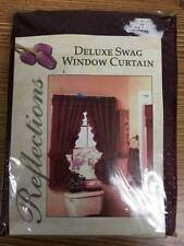 Double Swag Window Curtain, NEW
