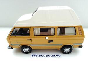 Volkswagen VW T3 A Bus Westfalia Joker Jaune De Schuco 1:18 450038500 Neuf