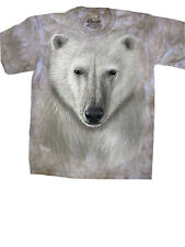 The Mountain Polar Bear Face T-Shirt New Size Small