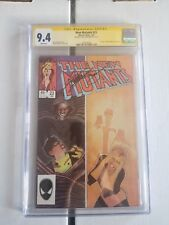 The New Mutants #23  CGC 9.4 SIGN BY  CHRIS CLAREMONT CLOAK AND DAGGER
