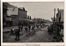 1898  --  CANADA  UNE RUE DE SKAGWAY   3K581