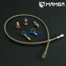 Mamba Turbo Oil Feed Line  Kit for VOLVO 740 940 960 TD04H-13C