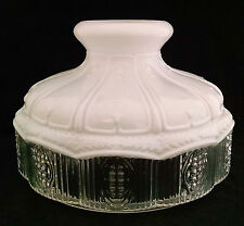 NEW WHITE ENAMEL 501 STYLE SHADE fits ALADDIN MILLER RAYO ROCHESTER OIL LAMPs