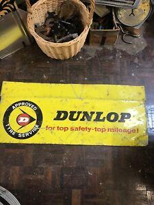 Dunlop Metal Tyre Sign
