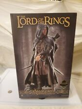 """New listing Sideshow Lord Rings Lotr """"Aragorn as Strider� Statue #421/550"""