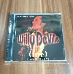Willy De Ville -  Live - Greatest hits '76-'93 (1993) Best of Musik CD *Wie Neu*