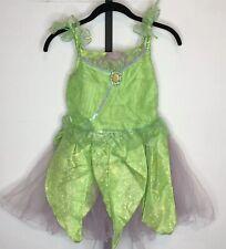 The Disney Store Tinkerbell Costume Girls 10 Dress Up Halloween Peter Pan