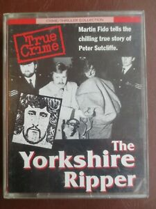 AUDIO BOOK The Yorkshire Ripper TRUE CRIME Peter Sutcliffe Story 2 Cassettes