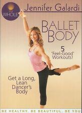 JENNIFER GALARDI BALLET BODY EXERCISE DVD NEW SEALED BARRE STYLE WORKOUT FITNESS