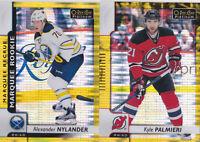 17-18 OPC Platinum Kyle Palmieri /50 SEISMIC GOLD OPEECHEE NJ Devils 2017