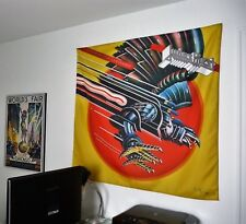 JUDAS PRIEST Screaming for Vengeance HUGE 4X4 BANNER poster tapestry cd album