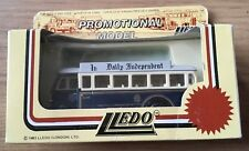 LLEDO SINGLE DECKER SHEFFIELD CORPORATION BUS - DAILY INDEPENDENT DIE-CAST MODEL