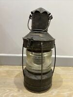 Antique Ships Lamp Boat Lamp German Ankerlight Anchor Light 1920s 1930s Old