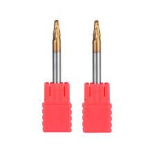 Carbide End Mill Ball Nose Radius1.75mm TiAIN Coat Length 50mm HRC55 Router Bit