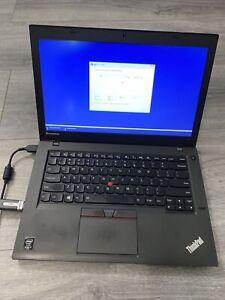 LENOVO THINKPAD T450 CORE i7-5600U 2.6GHz 8GB 256GB SSD WIN10 READ