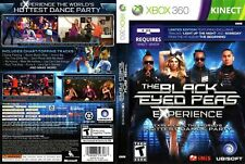 The Black Eyed Peas Experience *LIMITED EDITION* (XBOX 360, Kinect) Brand New