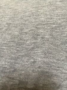 2 Pieces Hacci Brushed Sweater Knit Poly Rayon Spandex Fabric Textile Gray