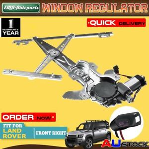 Electric Front Right Window Regulator With Motor for Land Rover Defender L316