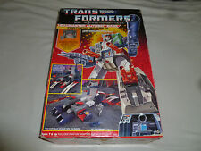 RARE G1 BOXED TRANSFORMER FORTRESS MAXIMUS HEADMASTER SPIKE CEREBROS COMPLETE 87