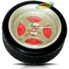 Novità auto lega ruota pneumatico analogico REGALO Beep Sveglia