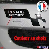 Sticker damier pour pare choc - Pour Renault Clio Sport Twingo etc - 130