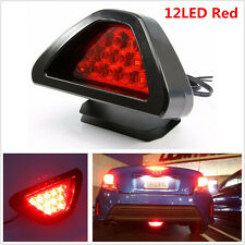 12LED Auto Car Rear Tail Brake Stop Light 3rd Red Waring Safety Lamp F1 Style