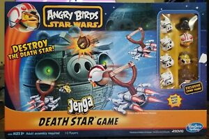 Angry Birds Star Wars Jenga Death Star by Hasbro 2012 - Clean - Star Wars -