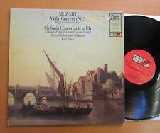 CC 7586 Mozart Violin Concerto 3 Schneiderhan Karl Bohm 1966 NM/EX Contour