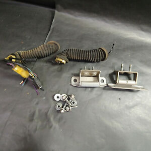 General Motors Liftgate Trunk Door Left and Right Hinges Set with Bolts and Boot