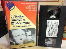 IL DOTTOR JEKILL E MISTER HYDE ( VICTOR FLEMING - 1941 ) # RARA VHS #