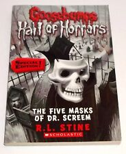 Goosebumps Hall of Horrors #3: The Five Masks of Dr. Screem: Special Edition PB