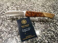 😍😍 KNIFE couteau - LE 1925 MARIE TAILLARDAT, manche LOUPE DE GONGALO 😍😍