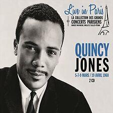 Quincy Jones - Live in Paris 5 7 & 9 Mars/19 Avril [New CD] France - Import