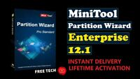 MiniTool Partition Wizard 12 Enterprise !!! 2020 !!! Full Version !!! LifeTime