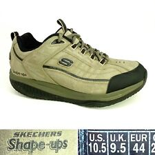 Skechers Shape Ups XT 52000 Mens US 10.5 Brown Suede Leather Walking Toning Shoe