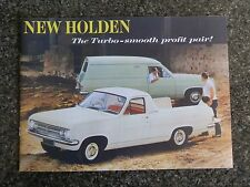 1966 HR HOLDEN UTE AND VAN SALES BROCHURE  100% GUARANTEE