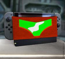 Espacio Bounty Hunter Dock Calcetín Protector de pantalla cubierta para juegos Nintendo Switch