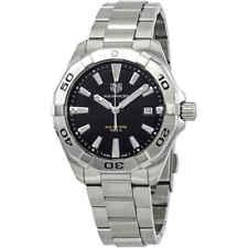 Tag Heuer Aquaracer Brushed Black Dial Men's Watch WBD1110.BA0928