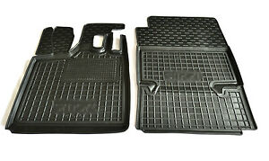 Rubber Carmats for Smart Fortwo 450 1998-2006 All Weather Tailored Floor Mats