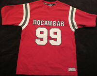 Rocawear Red Short Sleeve Crew Neck T Shirt Boys Youth L  14/16