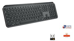 Logitech MX Keys Advanced Illuminated Wireless Keyboard  AZERTY French Layout